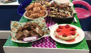 macmillan cake display